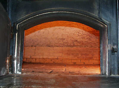 Scotch Brick Oven In Our Bakery Where We Bake Our Crusty Bread
